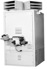 Aeroterma cu gaz verticala 44kW