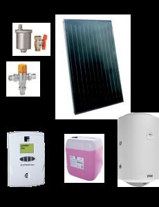 Pachet solar Ecotop VMFA cu boiler Titano 120L