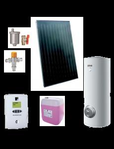 Pachet solar Ecotop VMFA cu boiler ECOUNIT 200-2C WT