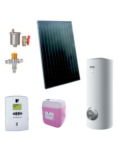 Pachet solar Ecotop VMFA cu boiler ECOUNIT 300-2C WT