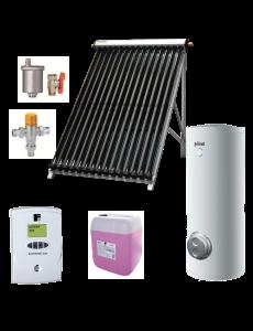 Pachet solar Ecotube si boiler Ecounit 500-2C