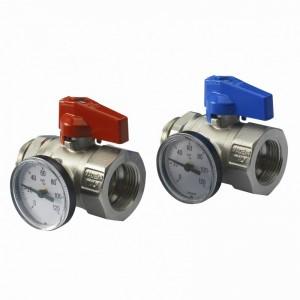 Set robineti IVAR cu olandezi de 1 tol si termometru