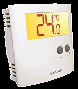 Termostat ambiental Salus ERT30 cu fir pentru incalzirea in pardoseala neprogramabil