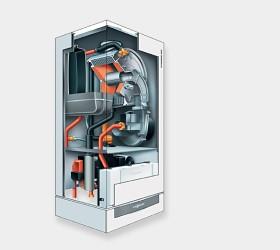 Centrala termica VIESSMANN VITODENS 200-W in condensare de 35kW, numai incalzire