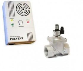 Electrovana + detector de gaz 1-1/2