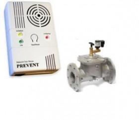 Electrovana + detector de gaz 2