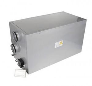 Centrale de ventilatie cu recuperator de caldura si baterie apa calda 1100m3
