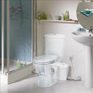 Pompa cu tocator pentru o baie completa - SANIPRO XR Silence