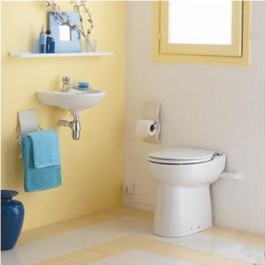 Vas WC cu pompa si tocator - SANICOMPACT C43