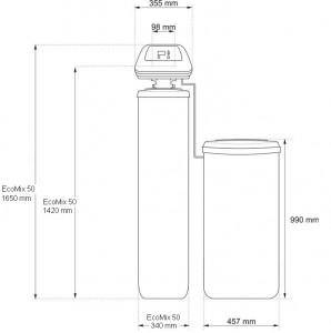 Sistem multi-filtru cu functionare automata Ecomix 50