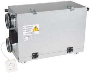 Centrale de ventilatie cu recuperator de caldura si motor EC 200m3