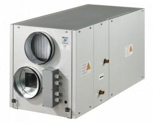 Centrale de ventilatie cu recuperator de caldura si baterie apa calda 300m3