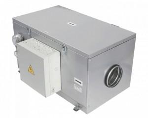 Baterie de incalzire electrica cu ventilator Vents VPA 125-2,4-1