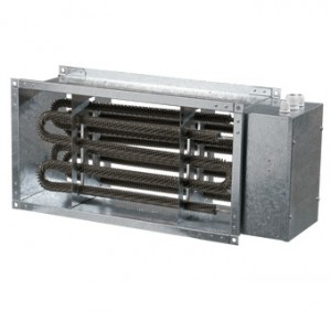 Baterie de incalzire electrica rectangulara Vents NK 500x250-6,0-3