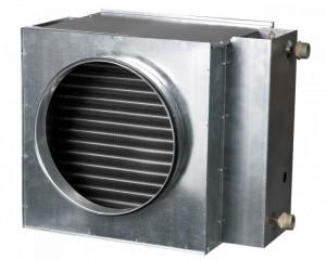 Baterie de incalzire cu apa rotunda Vents NKV 125-2
