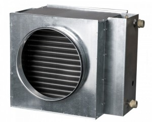 Baterie de incalzire cu apa rotunda Vents NKV 125-4
