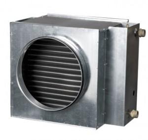 Baterie de incalzire cu apa rotunda Vents NKV 160-2