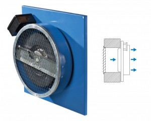 Ventilator centrifugal in-line VC 100