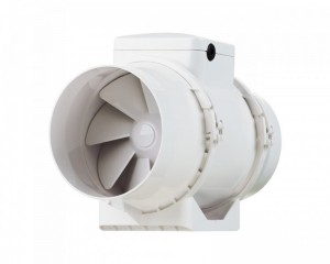 Ventilator centrifugal in-line plastic TT 125 S