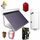 Foto Panou solar cu boiler de 150 l cu 15 tuburi solare vidate