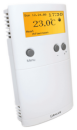 Foto Termostat ambiental Salus ERT50T cu fir pentru incalzirea in pardoseala programabil