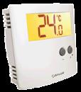 Foto Termostat ambiental Salus ERT30 24V cu fir pentru incalzirea in pardoseala neprogramabil