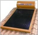 Foto Panou solar plan cu boiler 160l